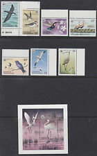GRENADA GRENADINES: 1978 Birds set + Min Sheet  SG294-300+MS301 MNH