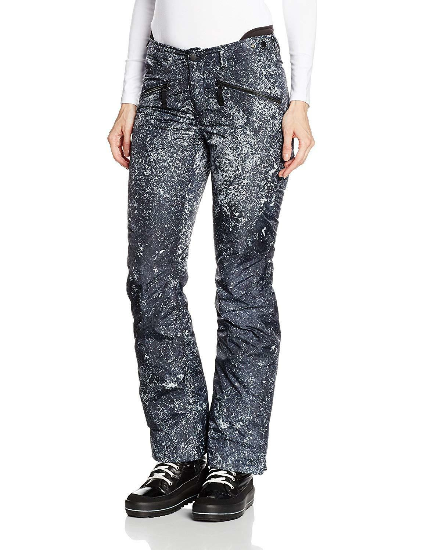 Bogner Fire  Ice Stina Donna Pantaloni Da Sci Pantaloni Blu Taglia