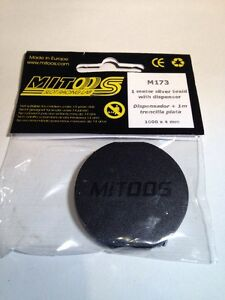 Mitoos M173 1 Meter Silver Alloy Braid and Holder/Dispens<wbr/>er New