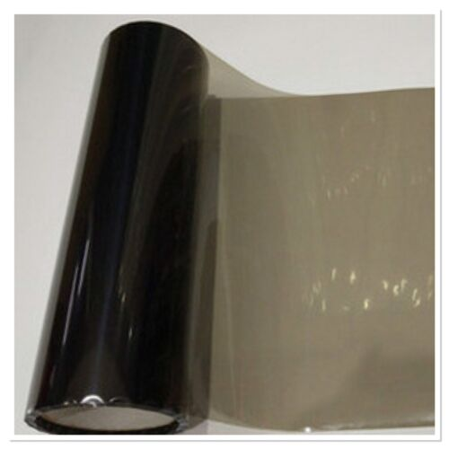 "Light Black 12/""x48/"" Headlight Fog Light Gloss Vinyl Color Film Wrap Sticker"
