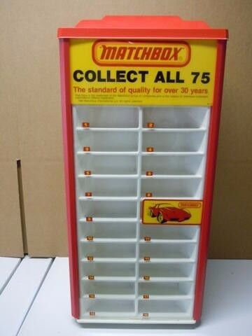 Wanted: Matchbox display stand ant type - see discription