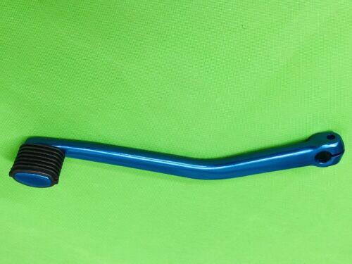 BLUE ANODISED KICKSTART LEVER /& BLACK RUBBER VESPA ALL PX MODELS LML 2 STROKE