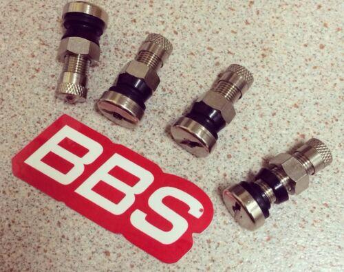 Bbs O.z Acero Válvulas de Neumáticos 8mm cónica y redondeada nuevo RS RM LM rf