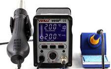 995D+ PLUSS verion. SMD Rework Station, Hot Air, Soldering iron  HAKKO heater