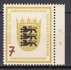 BRD 1955 Mi. Nr. 212 Postfrisch mit Rand TOP!!! (21531) - Beckum, Deutschland - BRD 1955 Mi. Nr. 212 Postfrisch mit Rand TOP!!! (21531) - Beckum, Deutschland