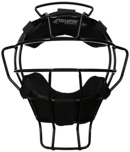 Champro Lightweight Dri-Gear Adult Baseball//Softball Umpire Mask
