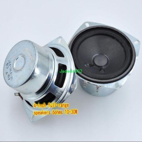 "1pcs 4/""inch 6ohm 10W~30W full-range speaker Loudspeaker Mid woofer Home Audio"
