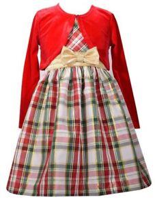 Kleider Für Weihnachten.Details Zu Traum Kleid Samtbolero Festlich Weihnachten Mädchen Gr 128 134 140 152 164