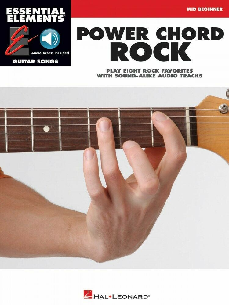 Essential Elements Guitar Songs Mid-Beginner NEW 000001139 Power Chord Rock