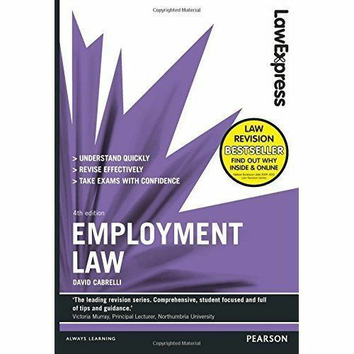 Law Express: Employment Law (Revision Guide) by David Cabrelli (Paperback, 2014)