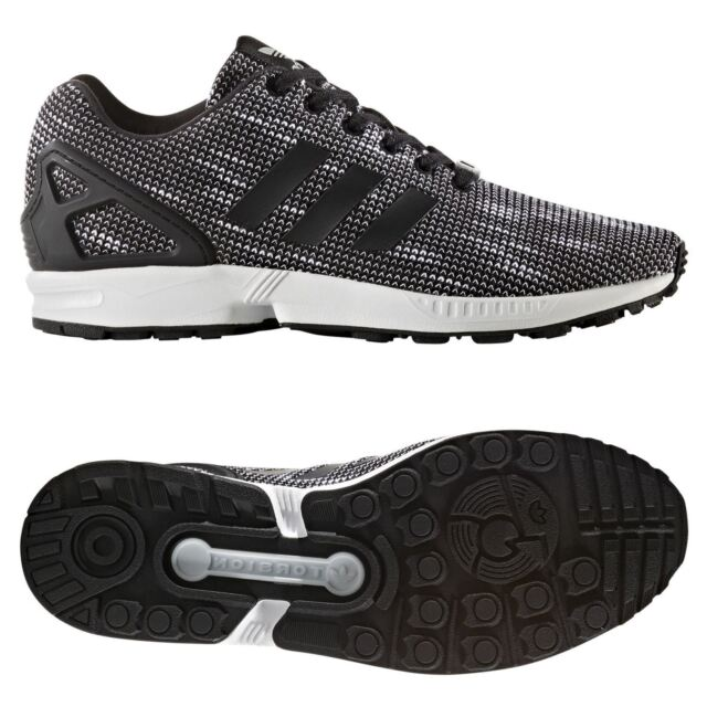 wholesale dealer d4005 c32f2 Adidas Originals Zx Flux Zapatillas Negras Zapatillas HOMBRE Torsion 3 Rayas