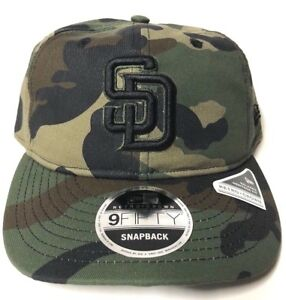 d50bfe6b03a38 New Era San Diego Padres Hidden Team Retro 9FIFTY Snapback Hat ...