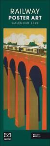 Railway-Poster-Art-National-Railway-Museum-2020-Official-Slim-Wall-Calendar