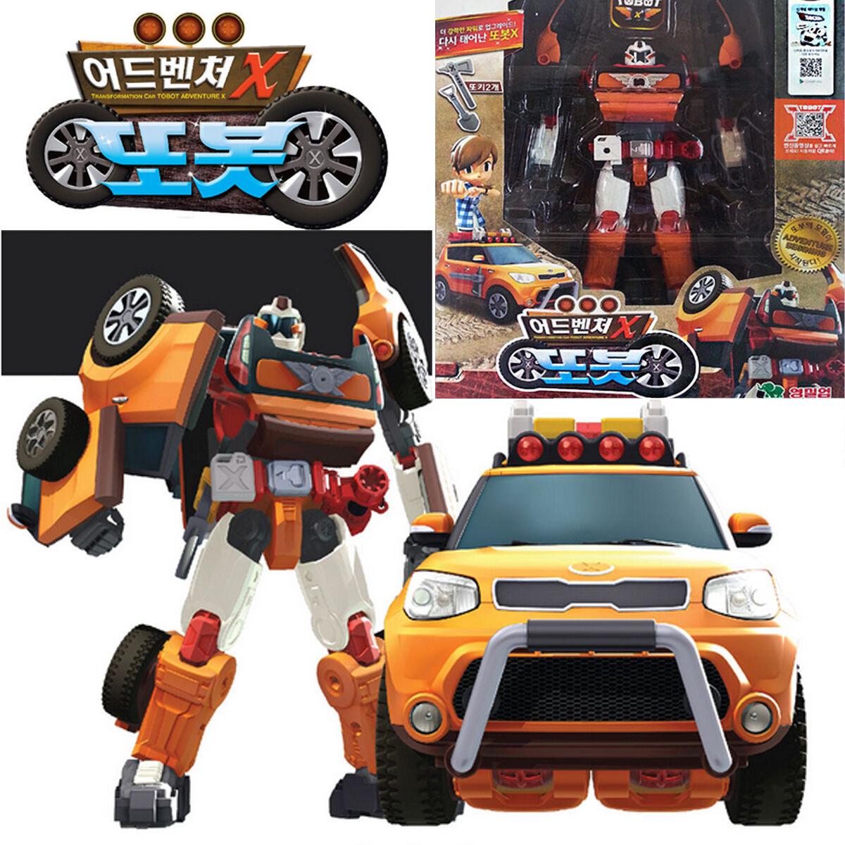 Tobot Aventura X Transformer Robot Auto de juguete Kia Kia Kia Motor Todo Nuevo Soul ecfa2b