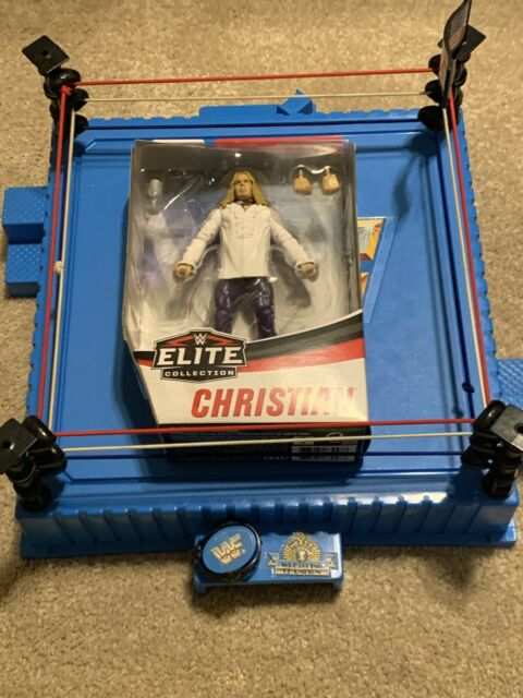 WWE Elite Series 76 Christian Figure NIB Rare Brood Version-Attitude Era-goblet+