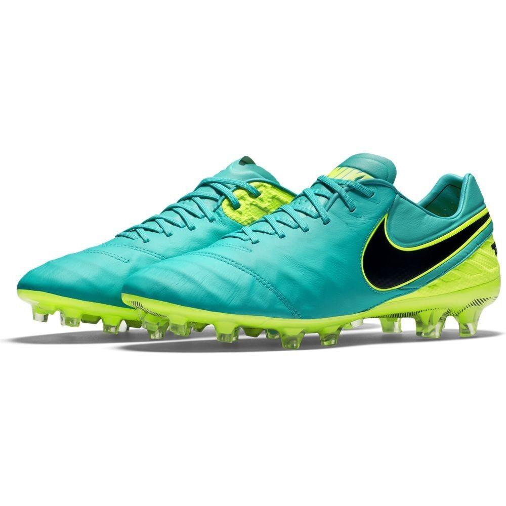 Nike cravatempo Legend VI FG Clair Jade Noir Volt Vert Jaune Football 819177-307