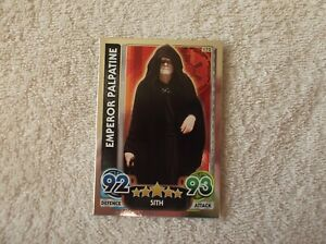 Topps-Star-Wars-Force-Attax-034-EMPEROR-PALPATINE-034-172-Galactic-Empire-Card