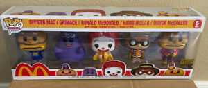 NEW Funko Pop McDonalds Ad Icons 5 Pack Limited Edition In Hand SHIPS NOW Golden