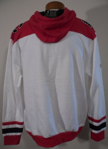 NWT Majestic Calgary Flames Double Minor Mens Pullover Hoodie L White MSRP$70