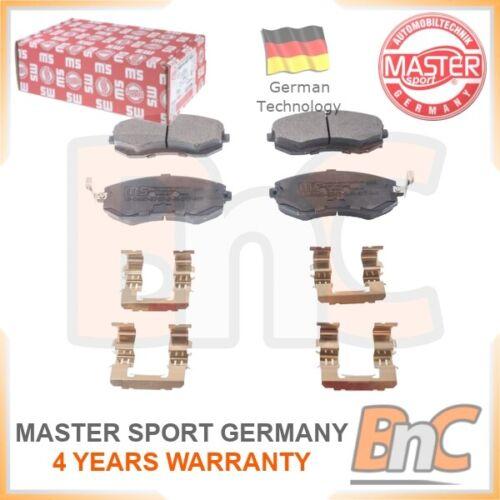 # GENUINE MASTER-SPORT GERMANY HEAVY DUTY FRONT DISC BRAKE PAD SET FOR SUBARU