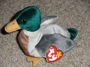 e1c2c31d54b TY Beanie Baby JAKE THE DRAKE Mallard Duck 5