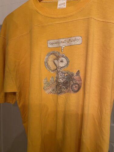 Vintage Loopwheel Snoopy Tshirt 1960s XL Usa Made