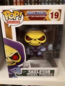 Figurine Funko Pop Motu He-man - Skeletor 19 Rare Collector Vaulted En Boîte