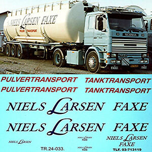 Niels-Larsen-Faxe-Tanktransport-Scania-111-141-142-Etc-1-24-Truck-Sticket