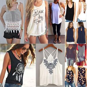 moda-donna-estate-pizzo-canotta-senza-maniche-casual-maglia-t-shirt