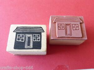 Motivstempel  Haus #1 Stempel  Stamping ca: 40x30mm  Basteln Kartengestaltu<wbr/>ng
