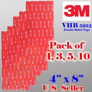 3m Vhb Double Sided Foam Adhesive Sheet Tape 5952