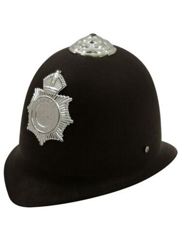 Childs Police Hat Fancy Dress Accessory Cop Bobby Kids Boys Girls Officer New