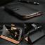 Luxe-Veritable-Genuine-Leather-Wallet-Case-Flip-antichoc-stand-Magnetique-Fonction miniature 20