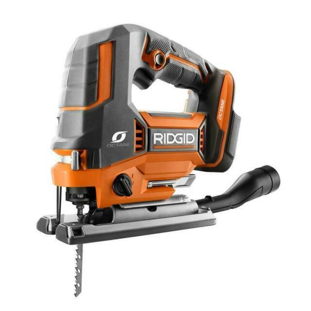 Ridgid 18v OCTANE Cordless Brushless Jig Saw Tool Only R8832