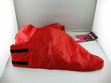 """Doggiduds Quilted Dog Parka Red White Inside NOS Sz 22"""" New With Tag"""