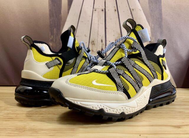 Nike Air Max 270 Bowfin Shoe Black/Yellow/White AJ7200-300 Men's Size 11
