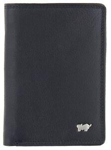 Braun-Bueffel-Golf-2-0-High-9-Card-Wallet-Geldboerse-Black-Schwarz