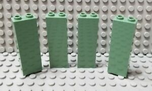 New LEGO Lot of 2 White 1x2x5 Wall Building Brick Pieces
