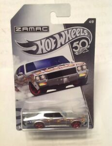 Hot Wheels 1/64 Zamac 50th aniversario'70 Buick Gran Sport experimental