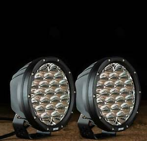 Kings-7inch-LED-Driving-Lights-Pair-Round-Spot-Offroad-4x4-Work-SUV