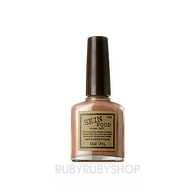 [SKINFOOD] Nail Vita 13ml - #BR607 Peanut Brown ROSEAU