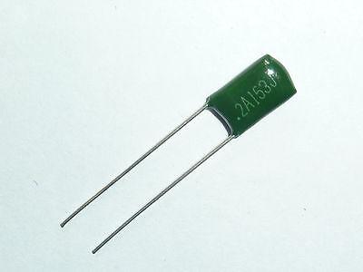 20 PCS x 100V 0.015uF 15nF 15000pF 2A153 J ±5/% Mylar Film Capacitors Radial NEW