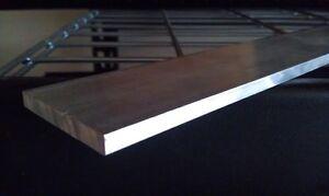 """1/4"""" X 6"""" Aluminum 6061 Flat Bar 14"""" long Sheet Plate Mill Stock"""