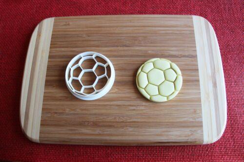 Soccer Ball Cookie Cutter Football Sports Cake Topper Fondant Cutter Cupcake