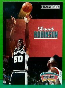 David Robinson regular card 1992-93 Skybox #224