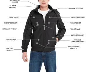 Choice of Size New BAUBAX Women/'s Blue Bomber Jacket