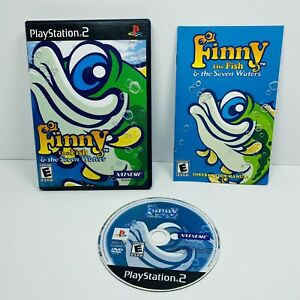 Finny the Fish & the Seven Waters (PlayStation 2 PS2 2005) Complete TESTED