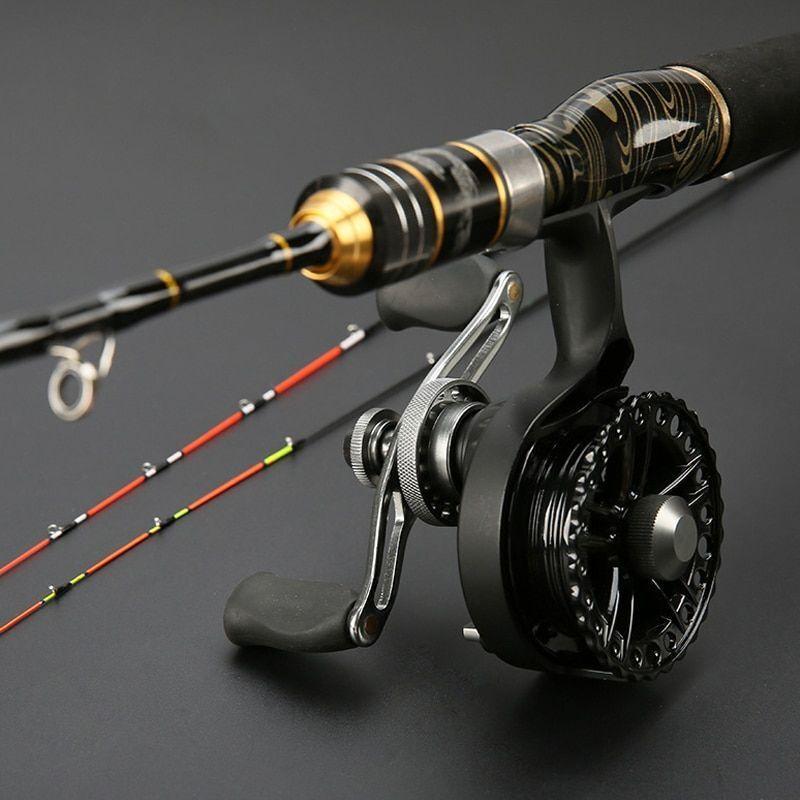 Micro Lead Fishing Rod Titanium Alloy Solid Soft Telescopic 1.0m-1.3m Bait Rod