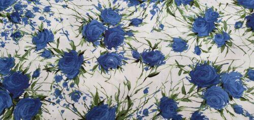 "John Lewis 100/% coton par mètre couture /""Blanchford F/' robe en tissu"