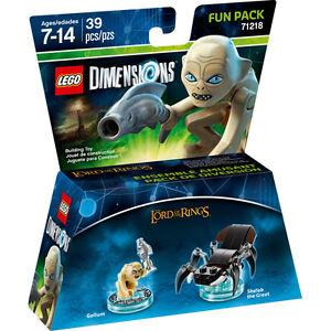 LEGO-DIMENSION-71218-FUN-PACK-Lord-of-the-Rings-Gollum-signore-degli-anelli-nuov